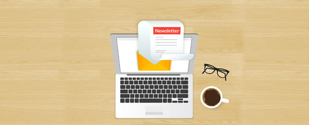 What should you include in a company newsletter?